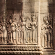 Stock Photo: Angkor Wat, stone carvings