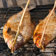 Grill fish — Stock Photo