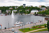Lappeenranta top view — Stock Photo