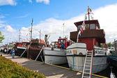 Regatta old boats — Stock fotografie