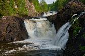 Kivach waterfall — Stock Photo