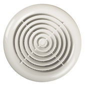 Fan on white — Stock Photo