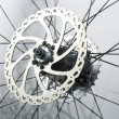 Stock Photo: Abstract background from bike parts