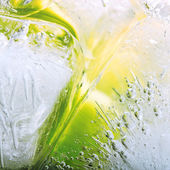Limonade avec de la glace — Photo