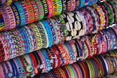 Mexican bracelets — Stock Photo