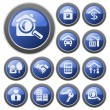 Real estate buttons — Stock Vector #13371436