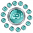 Royalty-Free Stock Vector Image: Medical buttons