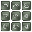 Weather buttons — Stock Vector #28464435