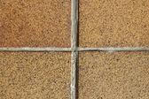 Four square sandstone tile — Stock Photo