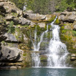 Waterfall in Spanish Pyrenees — Stock Photo
