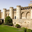 The Aljaferia palace in Zaragoza — Stock Photo