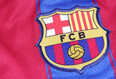 Football Club Barcelona Crest — Stock fotografie