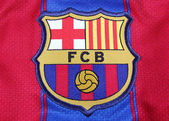 Football Club Barcelona Crest — Stock Photo