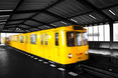 Tren subterráneo — Foto de Stock