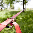 Stock Photo: Slackline