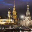 Stock Photo: Dresden Skyline, Germany