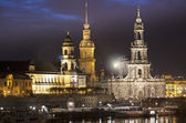 Dresden Skyline, Germany — Stock Photo
