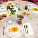 Ottoman style ramadan table — Stock Photo #18272351