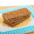 Stack of Crispbreads - Stock Photo