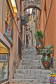 Taormina Side Street — Stock Photo