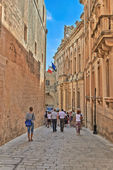 Street Of Malta — Stockfoto