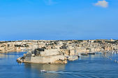 Grand Harbor in Valetta, Malta — Stock Photo