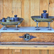 Antique Scales — Stockfoto