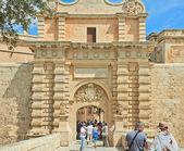 Malta. Tourists — Stock Photo
