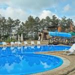 Cool Hotel Swimming Pool — Stock Photo