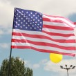 U.S. flag — Stock Photo