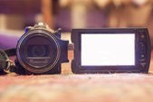 Camcorder is ready for battle. — Stockfoto
