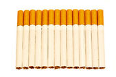 14 cigarettes — Stock Photo