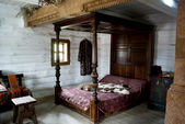 Antique bed — Stock Photo