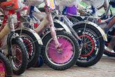 自転車の多様な世界 — ストック写真