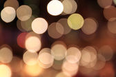 Black bokeh — Stock Photo