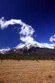 Jade Dragon Snow Mountain — Stock Photo