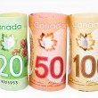 Canada money — Stock Photo