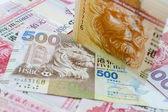 Hong Kong money — Stock Photo