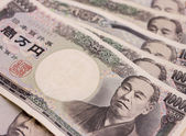 Japanese Money — Stock Photo