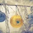 Stock Photo: New year balls