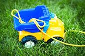 Игрушечный автомобиль — Стоковое фото