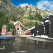 Stock Photo: East hill funicular railway in Hastings