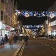 Stock Photo: Brighton street during Christmas