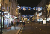 Brighton street during Christmas — Stock Photo