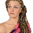 African plaits — Stock Photo