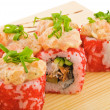 Rol spicy salmon — Foto de Stock