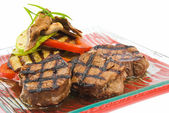 Beefs fillet grill 2 — Stock Photo