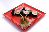 Sakura roll — Stock Photo