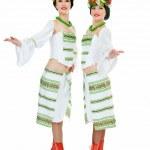 Two ukrainian dancers — Stock Photo