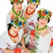 Ukrainian smiles - Stock Photo